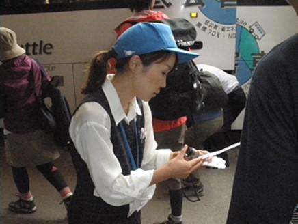 【長野】巴士站的乘客引導打工人員招募中!!